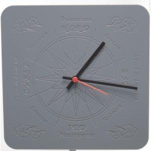Orologio con quadrante Rosa dei Venti