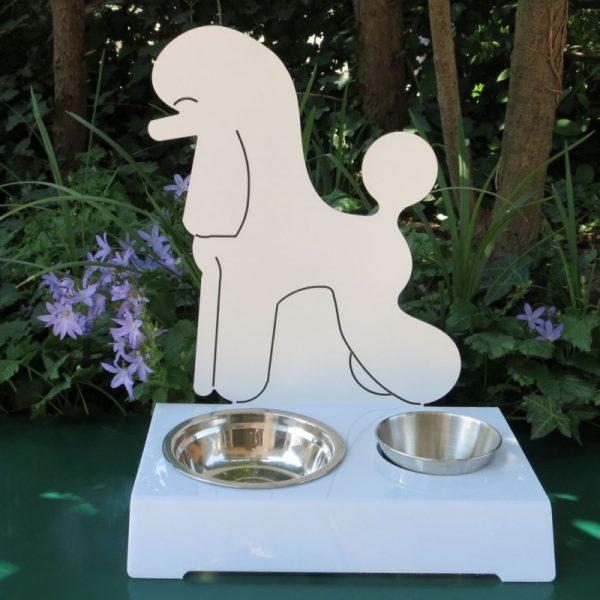 Porta ciotola per cani