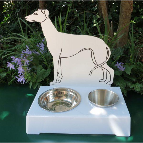 Porta ciotola per cani WIPPET