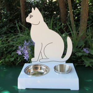 Porta ciotola per gatti EOLO