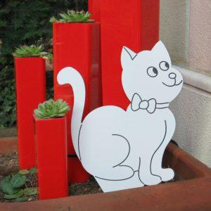 Decoro da giardino con Gatto Ambrogio